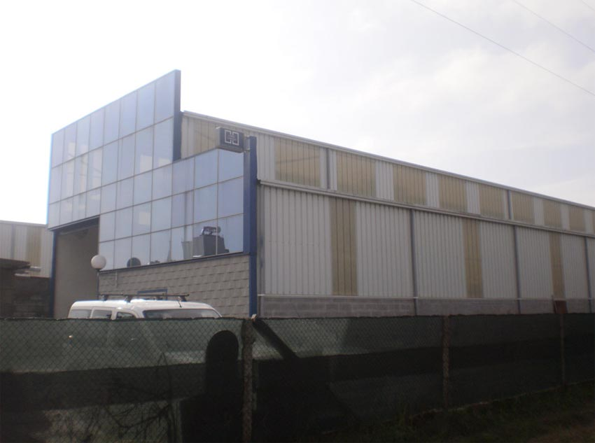 Construcciones xelacal construcciones ames alba iles - Gimnasio milladoiro ...